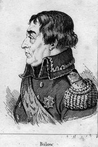 Portrait of Friedrich Wilhelm von Bulow by French School