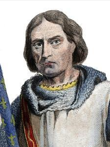 Portrait of Gaucher V de Chastillon (c1249-1329), Constable of France by French School