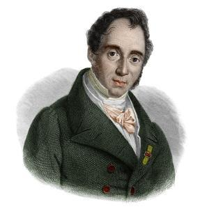 Portrait of Gaudenzio de Pagave (1776-1833) italian statesman by French School