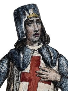 Portrait of Geoffrey of Villehardouin (1150-1228), French historian and knight by French School
