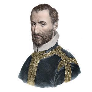 Portrait of Giovanni Pierluigi da Palestrina (1525-1594), Italian composer by French School