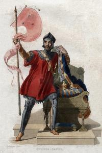 Portrait of Hugues Ier Capet (c941-996), King of France by French School