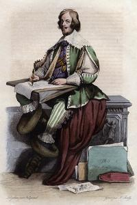 Portrait of Jacques Callot (1592-1635), French printmaker and draftsman by French School