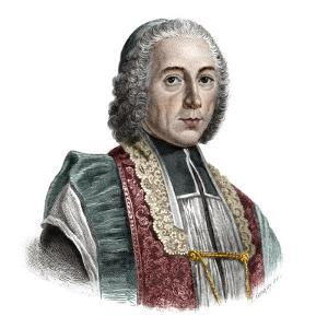 Portrait of Jacques Denis Cochin (1726-1783) founder of the Hopital Saint-Jacques by French School