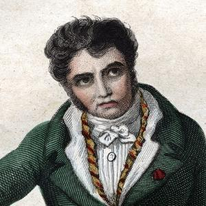 Portrait of Jacques Louis David (1748-1825), French painter by French School