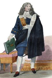 Portrait of Jean Baptiste Colbert (1619-1683), French politician by French School