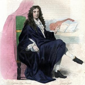 Portrait of Jean Baptiste Lully (1632-1687), French composer by French School