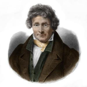 Portrait of Jean Francois Le Breton (1762-1838) painter and physicist by French School