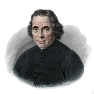 Portrait of Jean (Jan) Nieuwenhuyzen (1724-1806), Mennonite pastor by French School