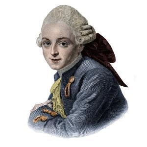 Portrait of Jean-Louis Archange (1750-1832) french architect by French School