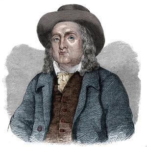 Portrait of Jeremy Bentham (1748-1832), English philosopher, economist, and theoretical jurist by French School
