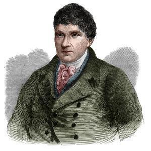 Portrait of John Rennie (1761-1821), Scottish civil engineer by French School