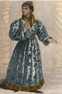 Portrait of John the Fearless (1371-1419) Duke of Burgundy by French School