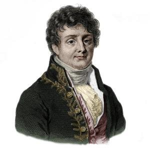 Portrait of Joseph Fourier (1768-1833) French mathematician and physicist by French School