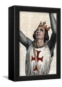 Portrait of Louis IX of France (Saint Louis) (1214-1270), King of France by French School