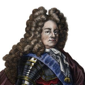 Portrait of Louis Joseph de Bourbon, Duke of Vendome, military commander and Marshal of France by French School