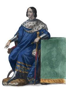 Portrait of Louis XII of France (1462-1515), King of France by French School