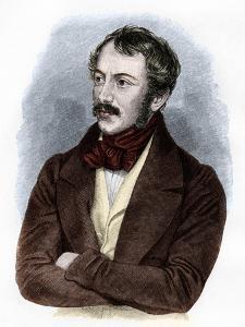 Portrait of Nikolaus Lenau by French School