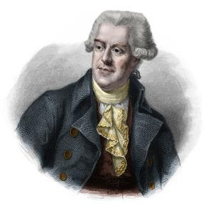 Portrait of Pascal (Pasquale) Paoli (1725-1807) Corsican patriot and leader by French School