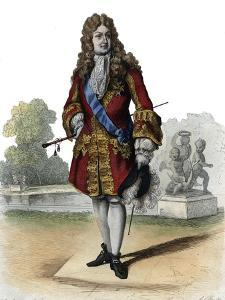 Portrait of Philippe II, Duke of Orleans (1674-1723) by French School
