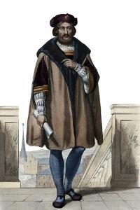 Portrait of Pierre de Ronsard (1524-1585), French poet by French School