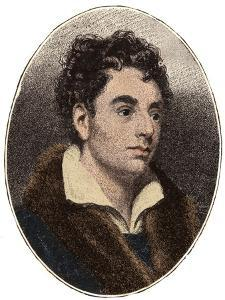 Portrait of Robert Southey (1774-1843) English poet of the Romantic school by French School