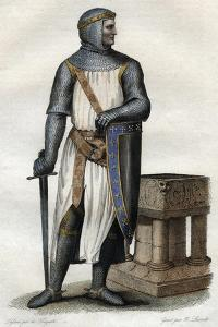 Portrait of Rollo (Robert I) (860-c927-933), Viking leader and Duke of Normandy by French School