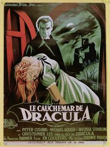 Poster Advertising the French Version of the Film, 'The Horror of Dracula' by French School