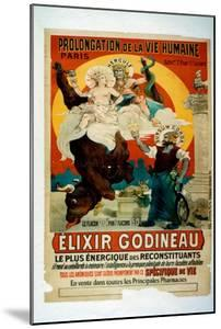 Poster for Elixir Godineau, c.1900 by French School
