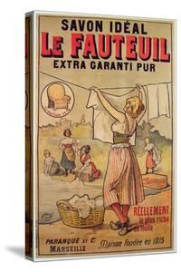 Poster for Le Fauteuil Soap by French School