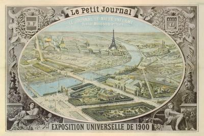Poster Published by 'Le Petit Journal' to Advertise the Exposition Universelle in Paris, 1900