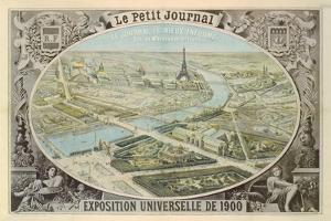Poster Published by 'Le Petit Journal' to Advertise the Exposition Universelle in Paris, 1900 by French School