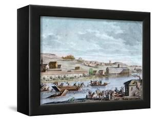 The Nantes Drowning, Reign of Terror, 1793 by French School