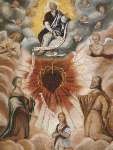 The Trinity, Saint Francis De Sales, 1567-1622 and Saint Jane Francis De Chantal, 1572-1641 by French School