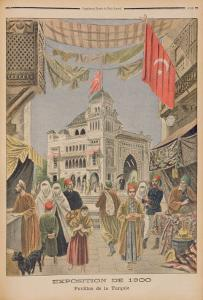 The Turkish Pavilion at the Universal Exhibition of 1900, Paris by French School