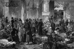 Vienna 1882, the Hall of the Lost Causes of the North Fahn by French School