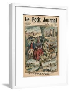 What the President of the Republic Has Admired During His Trip Through Brittany, Front Cover… by French School