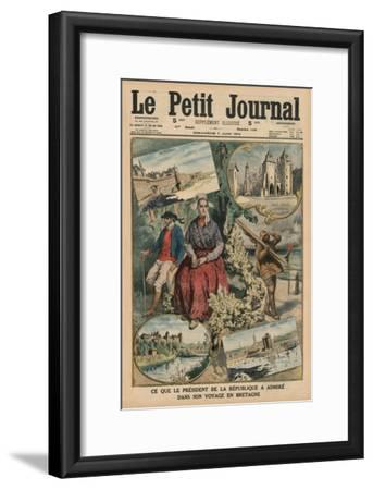 What the President of the Republic Has Admired During His Trip Through Brittany, Front Cover…