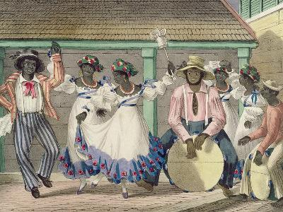 French Set-Girls, Plate 7 from 'sketches of Character...', 1838 (Colour Litho)-Isaac Mendes Belisario-Giclee Print