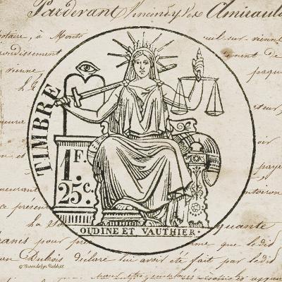 French Stamp II-Gwendolyn Babbitt-Art Print