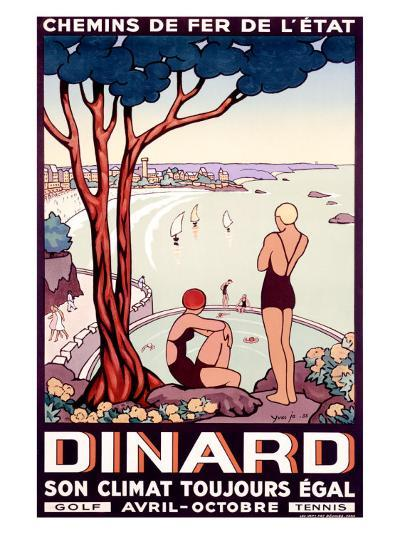 French State Railway, Travel to Dinard--Giclee Print