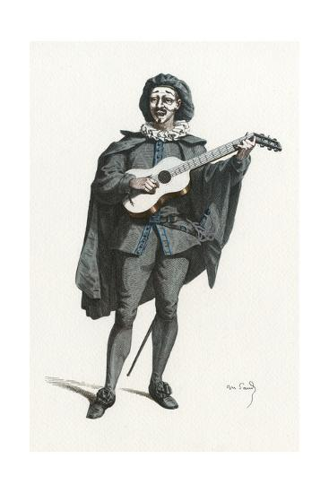 French Theatre, La Roze-Maurice Sand-Giclee Print