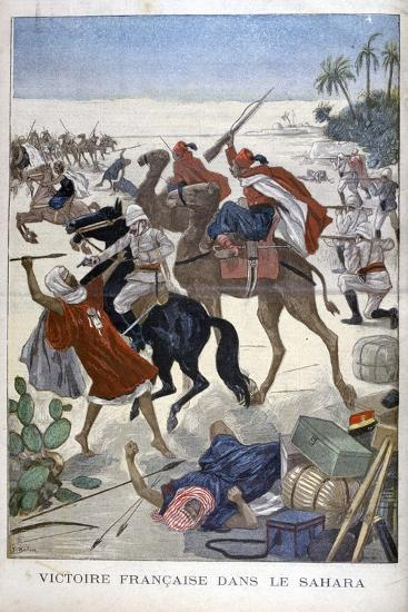 French Victory in the Sahara, 1900-Joseph Belon-Giclee Print