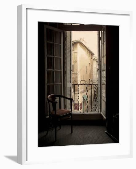 French Window, Aix-en-Provence, France-Nicolas Hugo-Framed Giclee Print