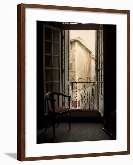 French Window, Aix-en-Provence, France-Nicolas Hugo-Framed Giclee Print