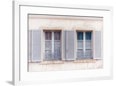 French Windows II-Cora Niele-Framed Photographic Print