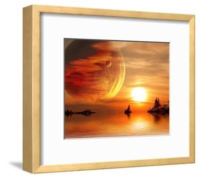 Fantasy Sunset by frenta