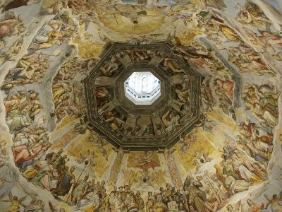 Fresco by Vasari and Zuccari on Ceiling of Duomo, Florence, Italy--Photographic Print