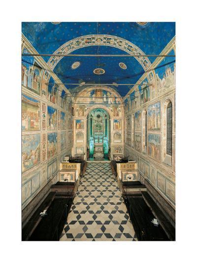 Fresco Cycle in the Scrovegni Chapel-Giotto di Bondone-Giclee Print