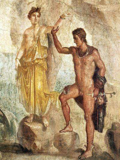 Fresco Depicting Perseus and Andromeda--Giclee Print
